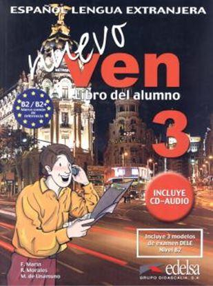 Imagem de NUEVO VEN 3 LIBRO DEL ALUMNO + CD AUDIO
