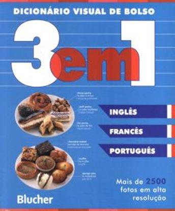 Imagem de DICIONARIO VISUAL DE BOLSO 3 EM 1 - INGLES / FRANCES / PORTUGUES